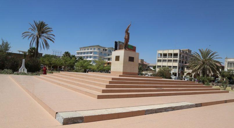 Nyerere square Dodoma Tanzania