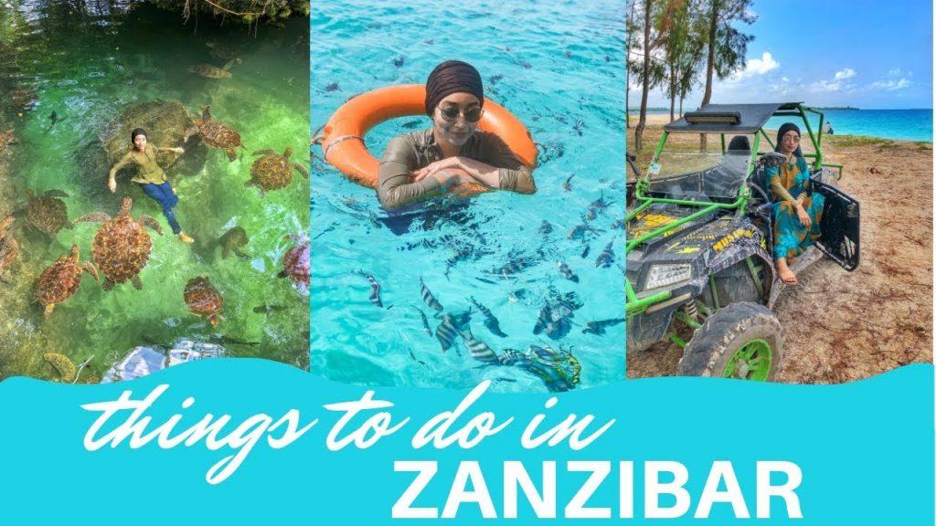 Activities in Zanzibar